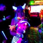 Me And My Chesire Cat At Bangarang :3 <3