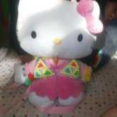 Hello Kitty Plushbag With Kandi