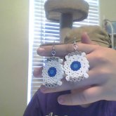 Portal 2 Wheatley Earrings