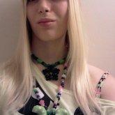 Very Green Rave Girl