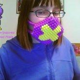 Drifloon Inspired Pony Bead Mask