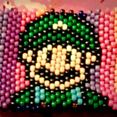 Luigi/Mario Themed Bag Front