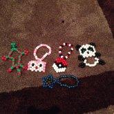 My Peyote Charm Beads :D