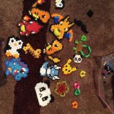 Perlers And Other Stuff I Hasnt Put On Kandi Yet<3