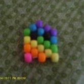Pacman Ghost ( Rainbow )