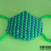 Blue & Green surgeon mask