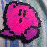 Kirby Pixel Perler