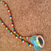 1 Pacifier Necklace