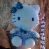 Hello Kitty Plush Necklace