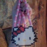 Hello Kitty Perler Necklace