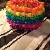 3D Rainbow Cuff