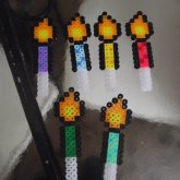 Candle Cupcake Toppers