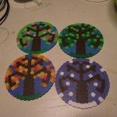 Seasonal Coasters