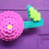 3D Perler Flower