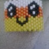 Candy Corn Kawaii Cuff