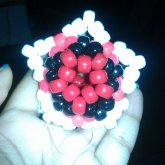 3d Black And Red Star