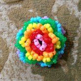 Mini Pony Bead Rose