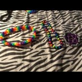 Some Of My Kandi Necklaces