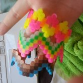Small Perler Cuffs