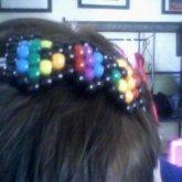 Rainbow Bow Headband