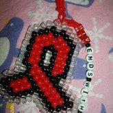 HIV Awareness Keychain