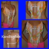 Neon Fringe Kandi Shirt