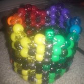 Jagged Rainbow Cuff
