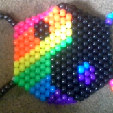 Rainbow Yinyang Mask