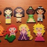 Eleven Disney Princesses