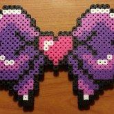 Purple Heart Bow