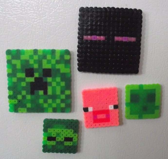 Minecraft Mobs By Soggy Enderman Kandi Photos On Kandi