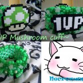 1UP Mushroom Cuff