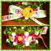 Peace Ribbon Cuff
