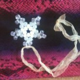 White Glow Snowflake
