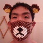 Rilakkuma Mask And Ears.