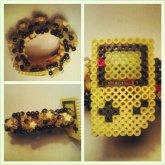 Yellow Game Boy 3D Cuff
