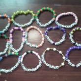 My BF's Dj Name On Many Bracelets