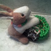 Big 3D With Bunny Plush