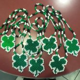 4 Leaf Clover Necklaces My Bestie Made For Flogging Molly