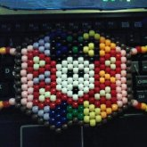 Rainbow Skull Mask