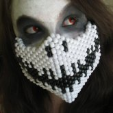 Skeleton Half Mask 3