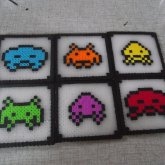 Space Invaders Coaster Set