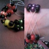 Rainbow Cube Bracelet