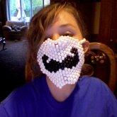 Mustache mask I made!