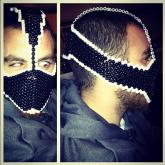 Bane-Inspired Kandi Mask