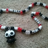 Owl Kandi Necklace
