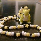 Sandshrew Kandi Necklace