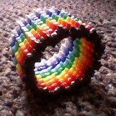 Rainbow Star Cuff