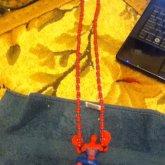 Spider Man Necklace