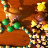 Bonsly And Buneary Necklaces